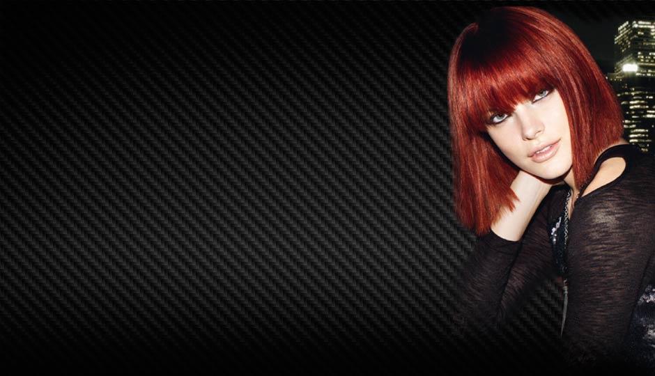 homepage model with bob haircut